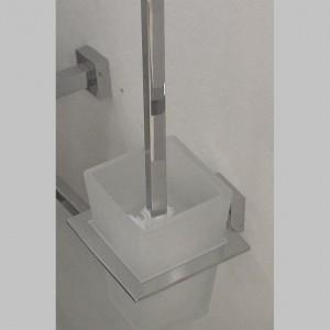 Arnolds Design Square WC-Bürste mit Halterung_zoom