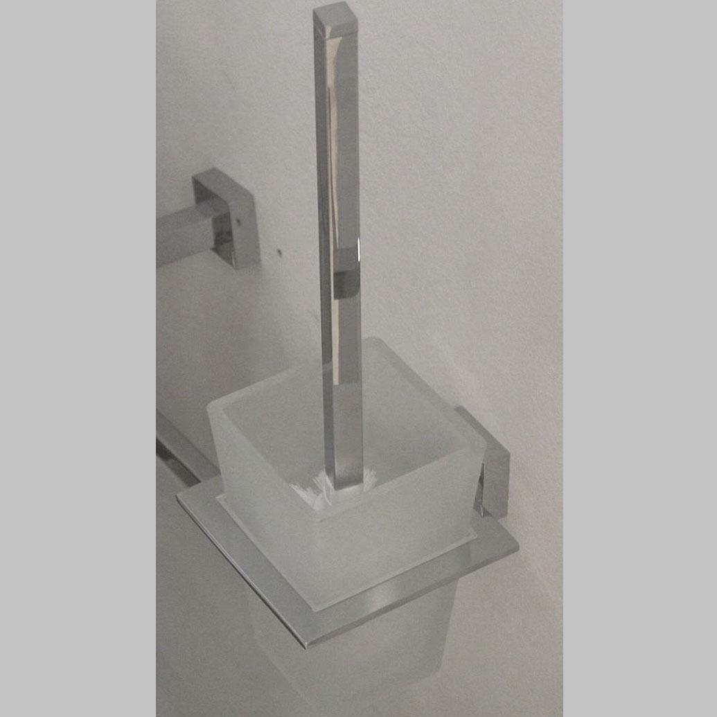 Arnolds Design Square WC-Buerste mit Halterung