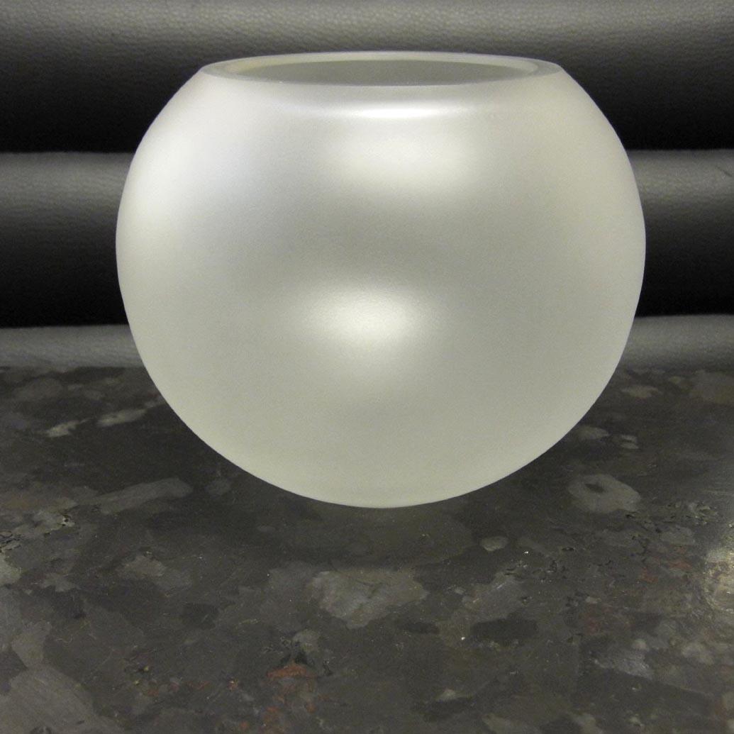 Arnolds Design Lampenglas Bleikristall matt