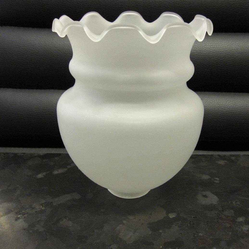 Arnolds Design Lampenglas weiss satiniert